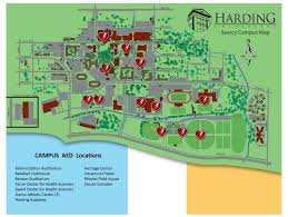 American University Campus Map Harding Public Safety Campus Security
