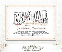 baby brunch invitations baby shower brunch invitations ryanbradley co