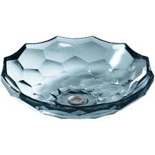 Home Depot Vessel Sinks by Kohler Briolette Glass Vessel Sink In Translucent Dusk K 2373 Tg1