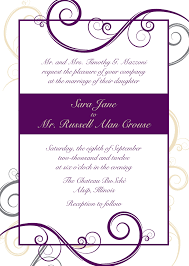 Example Of Invitation Card Wedding Invitation Companies Haskovo Me