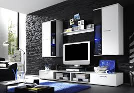 Wohnzimmer Deko Shabby Wohnwand Idee
