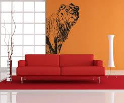 vinyl wall decal sticker big lion from stickerbrand