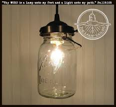 Jar Pendant Light Jar Pendant Light Vintage Quart The L Goods