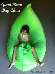 Pouf Style Fatboy Make A Fatboy Inspired Bean Bag Chair 365 Days Of Crafts Diy Art