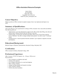 exles of administrative assistant resumes fair office administration resume exles with manager