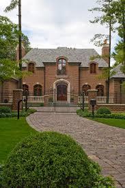 exterior color ideas with brick home