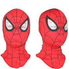 spiderman mask ebay