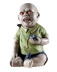 lunging lily spirit halloween little willy zombie baby wants to share his special friends with