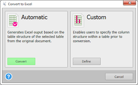 convert pdf table to excel convert pdf to excel manually or using online converters