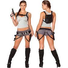 Lara Croft Tomb Raider Halloween Costume Treasure Huntress Lara Croft Tomb Raider Angelina Jolie
