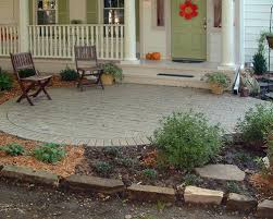 Front Patios Design Ideas by Front Yard Patio Designs Home Design Ideas And Pictures