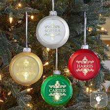 christmas ornaments with initials shop new personalized christmas ornaments from personal creations