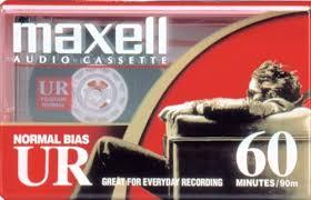 maxell cassette maxell ur 60 blank 60 minute audio cassette 109010 malelo