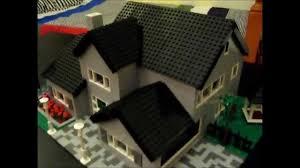 moc lego 2 story house youtube