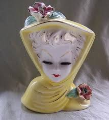 Large Head Planters 52 Best Pretty Lady Planters Images On Pinterest Vintage