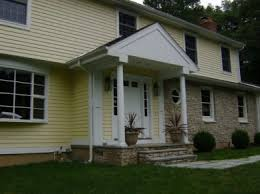 Split Level Front Porch Designs Bumped Out Front Door Front Interior Foyer Extended See Bump
