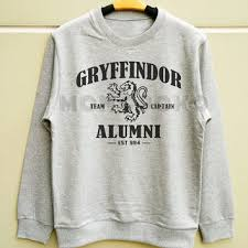harry potter alumni shirt shop gryffindor sweatshirt on wanelo