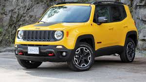 red jeep renegade 2016 2016 jeep renegade trailhawk review big guy small car test drive