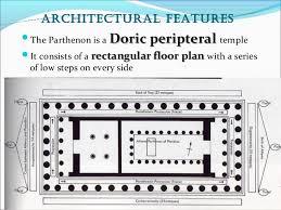 floor plan of the parthenon parthenon and golden ratio