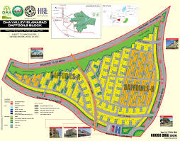 Islamabad Map Dha Valley Islamabad U2013 Daffodils Block Map Dha Today