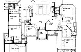 custom home blueprints custom home plans deco single story luxury colonial house