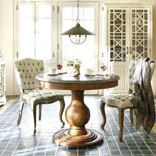 small round pedestal dining table 54 round pedestal dining table with leaf two tone kitchen table or