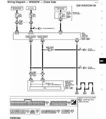 i need wiring diagram for power window switches nissan titan forum