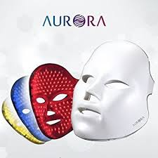 led light therapy system amazon com aurora low level light therapy system led mask self