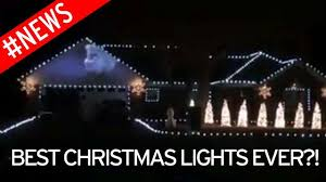 watch christmas lights flash perfectly in time with frozen u0027s let
