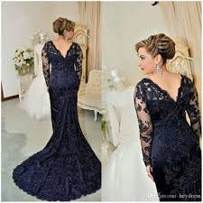 mothers dresses for wedding navy blue of dresses mermaid style 2017 sleeve