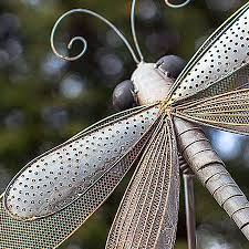 iron dragonfly garden ornament from jackson perkins