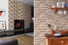 Living Room Wall Tiles Design Interior Design Aamphaa Projects - Living room wall tiles design
