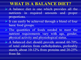 diet and nutrition ppt