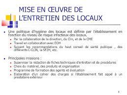 protocole nettoyage bureau hygiène des locaux et circuits hospitaliers ppt télécharger