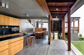 Concrete Floor Ideas Indoors Colored Indoor Concrete Floor Kitchen Contemporary With Sydney