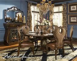 aico dining room aico tuscano melange round dining table view in your room houzz