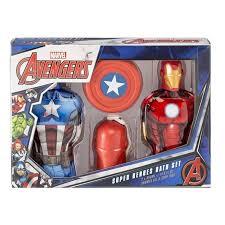 Marvel Bathroom Set Marvel Avengers Super Heroes Bath Set 2 Shower Gel 2 Soap Toy Gift
