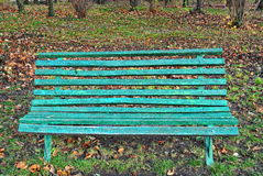Old Park Benches Vacant Park Bench Autumn Stock Images 68 Photos