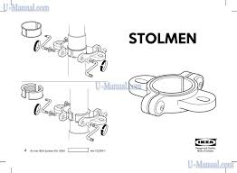 others ikea stolmen accesoire preview manual for free page 1