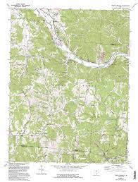 State Map Of Ohio by Union Furnace Topographic Map Oh Usgs Topo Quad 39082d3