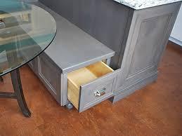 kitchen bench storage home interior inspiration