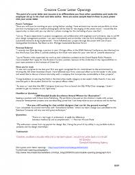 cover letter unique cover letters examples excellent cover letter