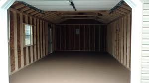 Single Car Garage by 14x24 One Car Garage Pine Creek Structures