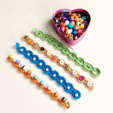 crochet bracelet with beads images Crochet bracelet ideas jpg