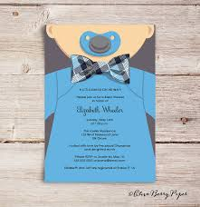 bow tie baby shower invitations bow tie baby shower invitations olive berry paper llc