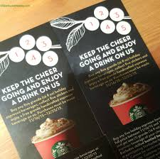 espresso drinks buy 5 grande holiday drinks at starbucks get one free