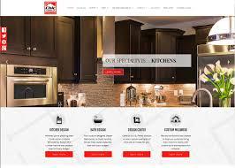 Kitchen Website Design by Chic Lumber Design Center