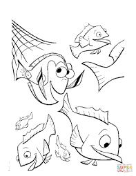 nemo coloring pages print nemo coloring theotix