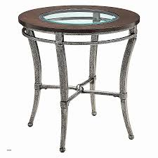 all glass end tables end tables homelegance charlaine round glass end table on chrome