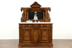Side Buffet Server by Sold Victorian Renaissance 1875 Antique Sideboard Buffet Server